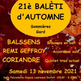 Baléti d'automne